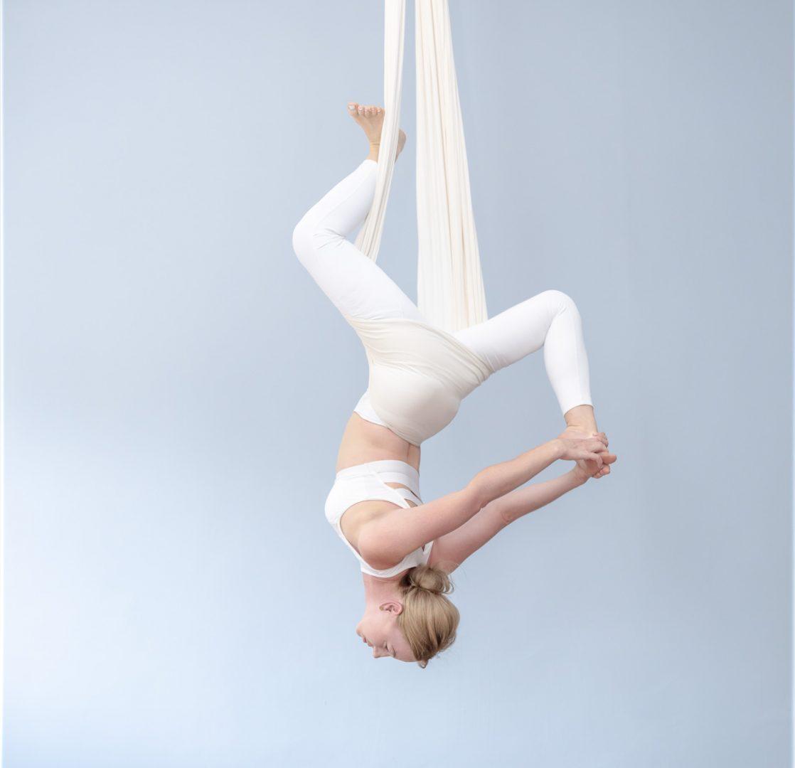 Aerial Yoga – kurs – grupa zamknięta
